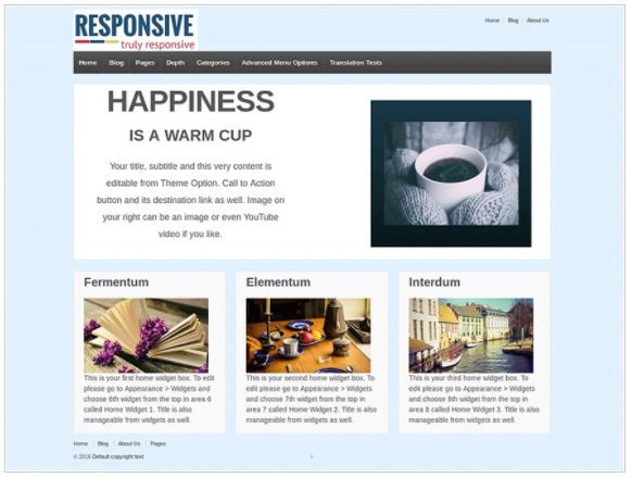 Top Free WordPress Themes-Responsive