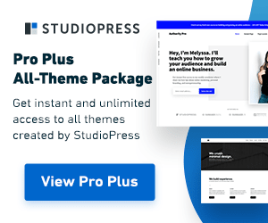 StudioPress Pro Plus