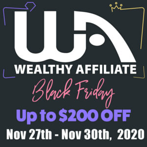WA Black Friday Sale